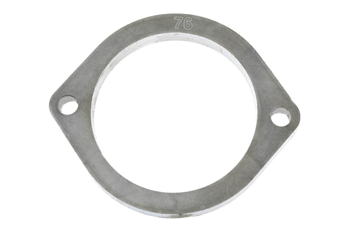 Flansza łącznik układu wydechowego 76mm 2 śruby - GRUBYGARAGE - Sklep Tuningowy